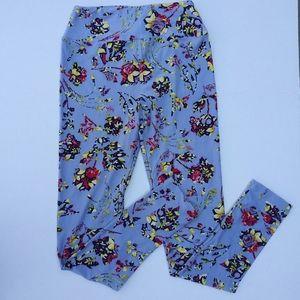 Lularoe one size gorgeous print leggings